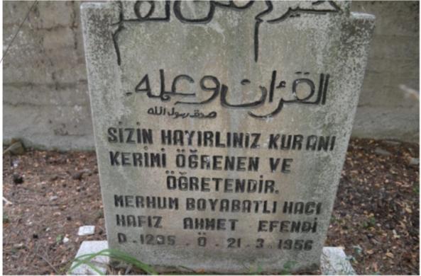 Boyabatlı Hacı Hafız Ahmet Efendi