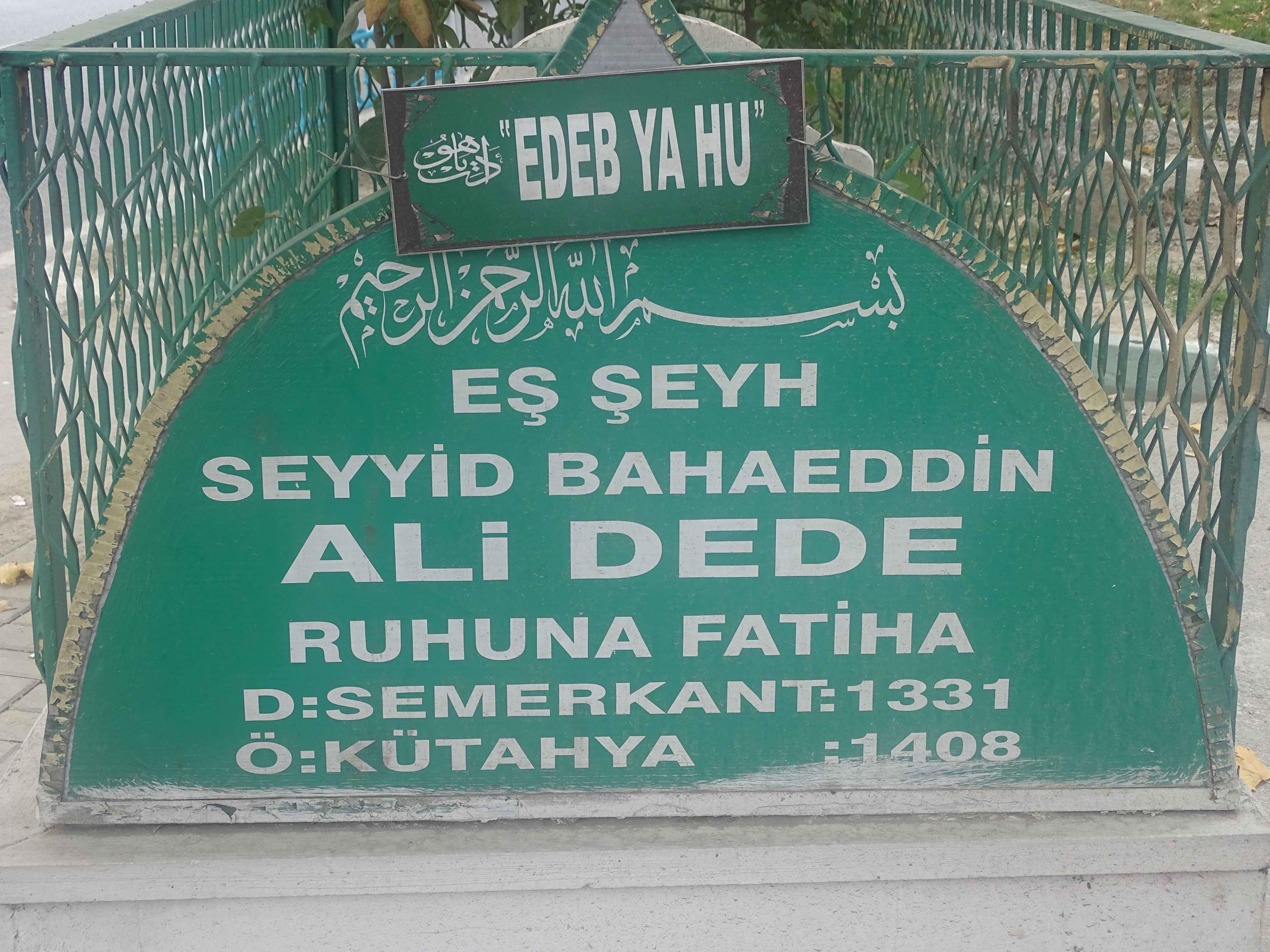 Seyyid Bahaeddin Ali Baba 2
